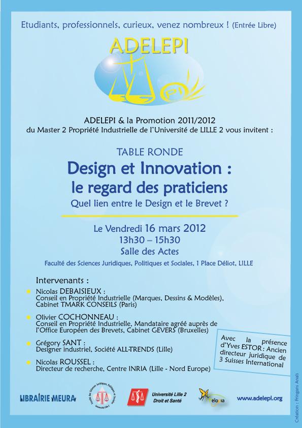 2012 03 16 2eme conference adelepi adelepi - Cabinet de conseil en propriete industrielle ...